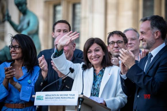 Paris Election: Anne Hidalgo Reelected As Mayor